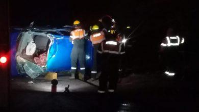 Photo of Grave accidente en cercanías de Castex. Auto impactó contra tractor.