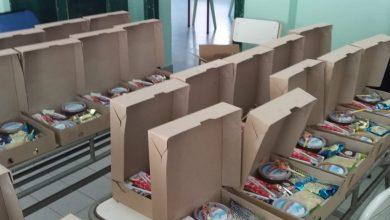 Photo of En la Escuela Hogar de Conhello le llevaron un desayuno a cada alumno y barbijos por el Día del Niño