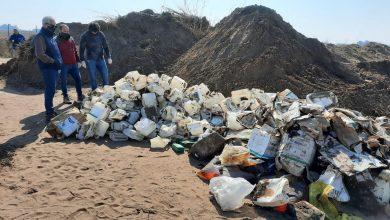 Photo of Encuentran una gran cantidad de bidones de agroquímicos enterrados