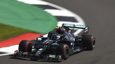 "Photo of Bottas, sobre el final, se quedó con la ""pole"" en Silverstone"