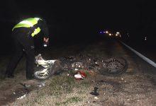 Photo of Murió un motociclista al chocar de frente contra un camión en la ruta 5