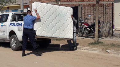 Photo of Castex: recuperan un colchón, teléfono y plancha que habían sido robados