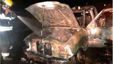 Photo of Catriló: se incendio camioneta policial donde iba el comisario