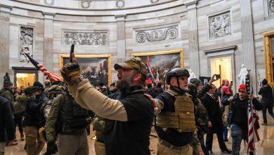 Photo of Tensión en Washington: el Senado entró en receso y el vicepresidente Mike Pence fue evacuado del Capitolio por los disturbios