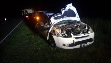 Photo of Un automóvil impactó contra un vacuno en cercanías de Monte Nievas