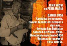 """Photo of Este sábado la música llega a """"Feria María, parrilla de campo"""""""