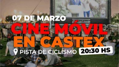 "Photo of Hoy ""Cine Móvil"" en Castex"