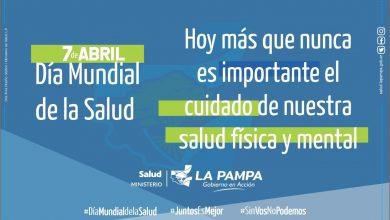 Photo of Día Mundial de la Salud: La Pampa fomenta sanidad apuntando a la federalización de los recursos