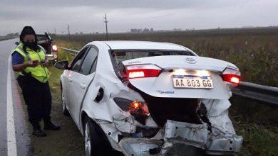 Photo of Accidente en la curva de Metileo