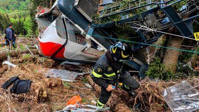 Photo of Trece muertos y dos niños graves al caer un teleférico en Italia