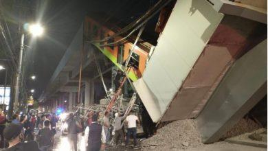 Photo of Tragedia en México: se derrumbó el tren metropolitano y murieron 23 personas
