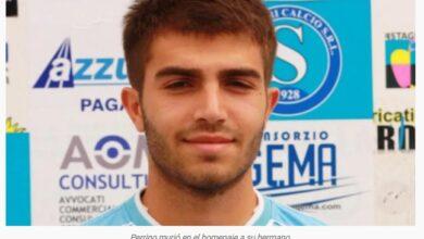 Photo of Conmoción en Italia: murió un futbolista en el partido homenaje de su hermano fallecido