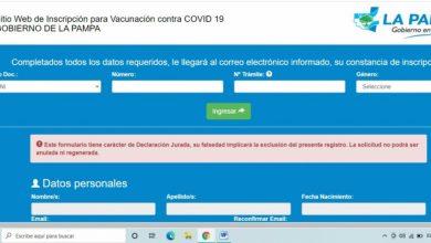 Photo of El gobierno pampeano denunció penalmente a un joven de Rancul que mintió para vacunarse