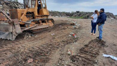 Photo of Trabajos en el basurero municipal
