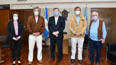 Photo of Ziliotto recibió al presidente de la Sociedad Rural Argentina